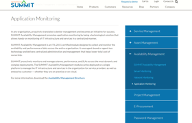 Summit Availability Management Software Reviews 2020 Details Pricing Features G2
