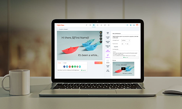 Hippo Video Demo - Hippo Video - DIY Video Personalization Platform