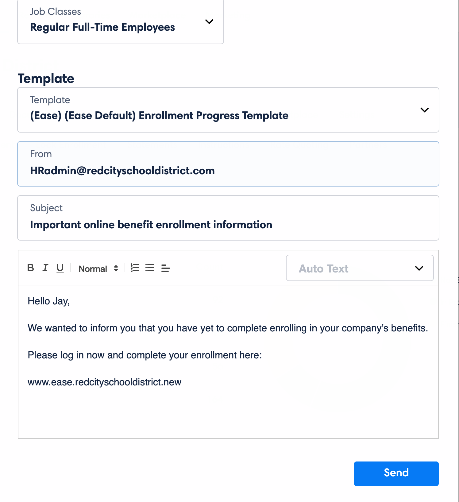 Ease Demo - 2. Email Employees Through Ease