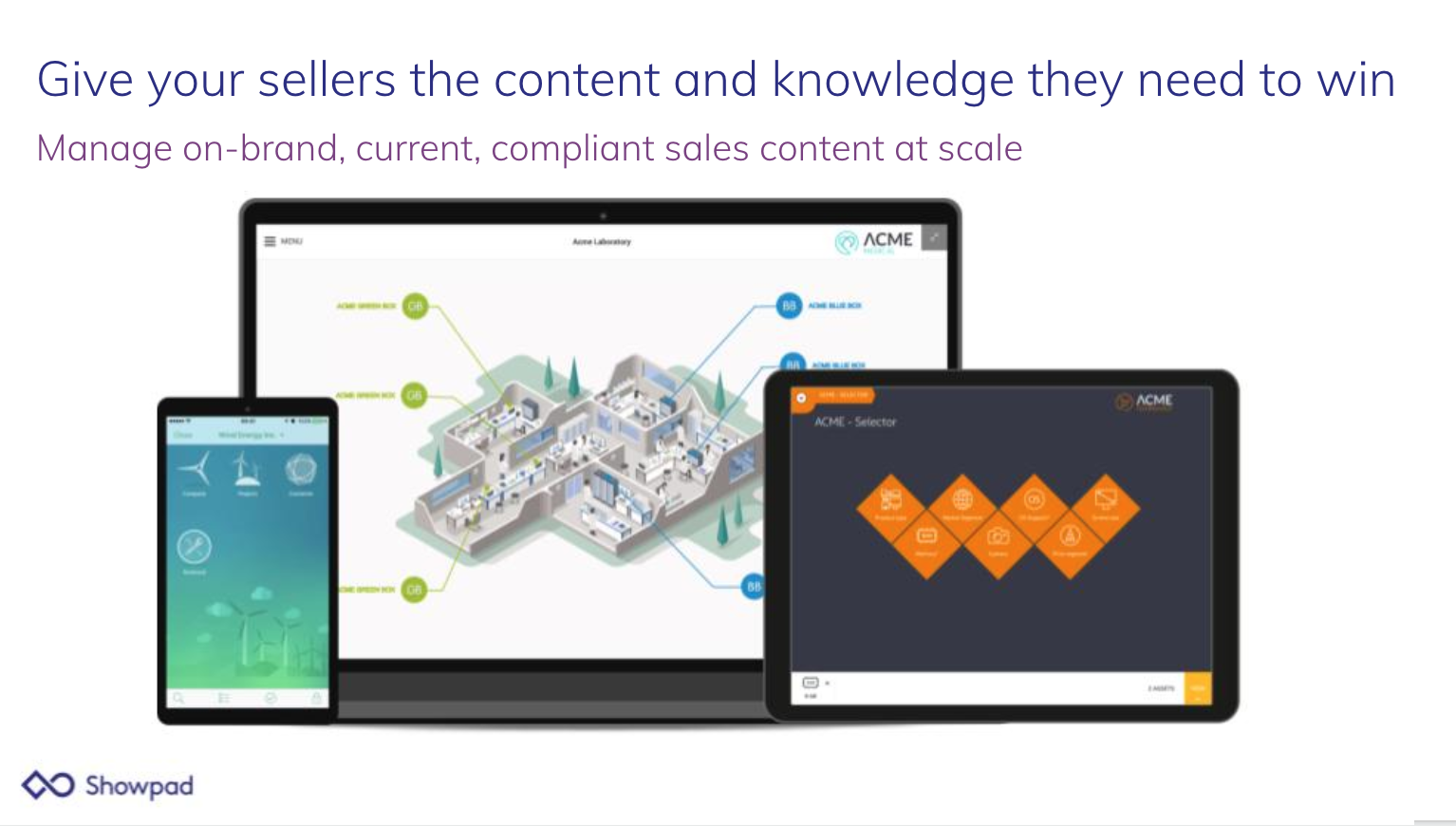 Showpad Content Demo - Give your sellers the content and knowledge they need to win