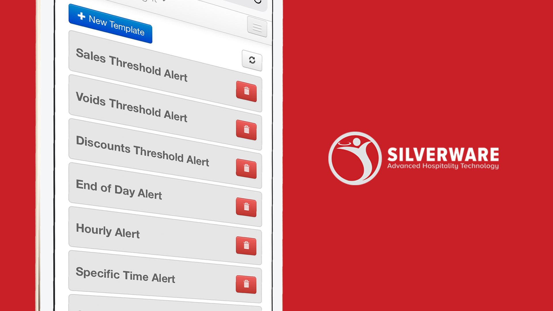 Silverware Demo - Reporting