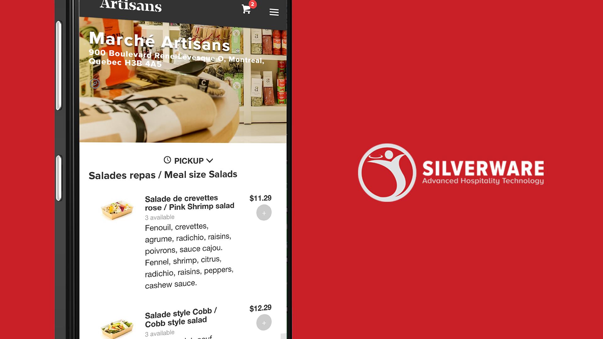 Silverware Demo - Online Ordering