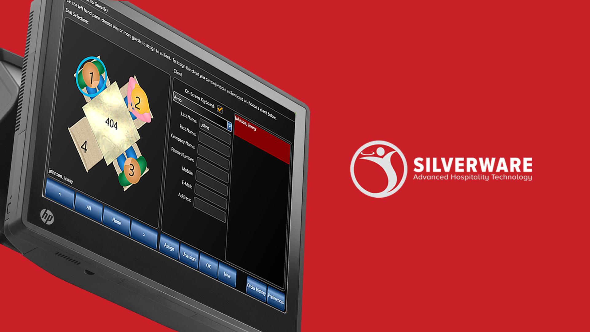 Silverware Demo - Unique Graphical Seat Selection