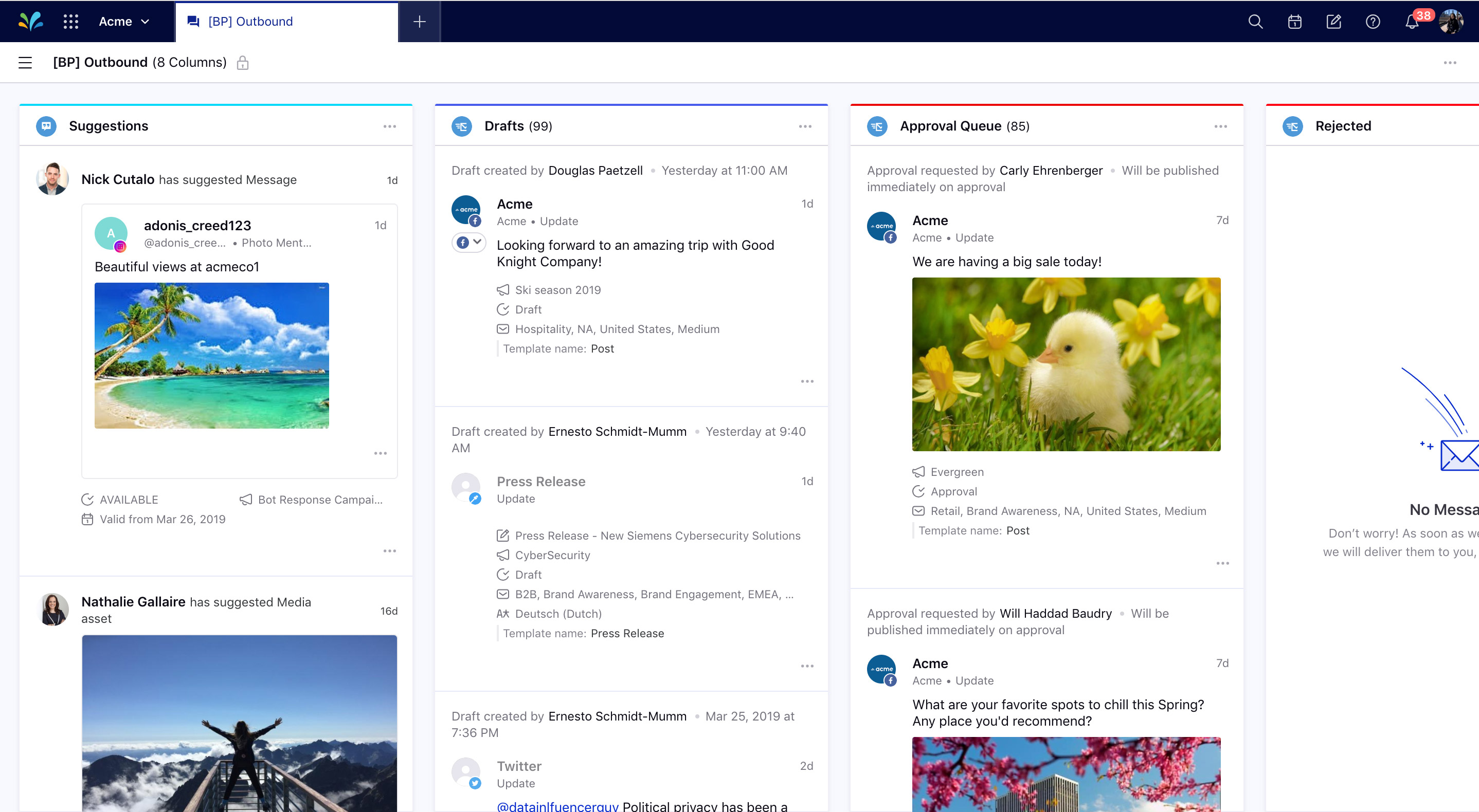 Sprinklr Modern Engagement Demo - Sprinklr  Social & Messaging Suite