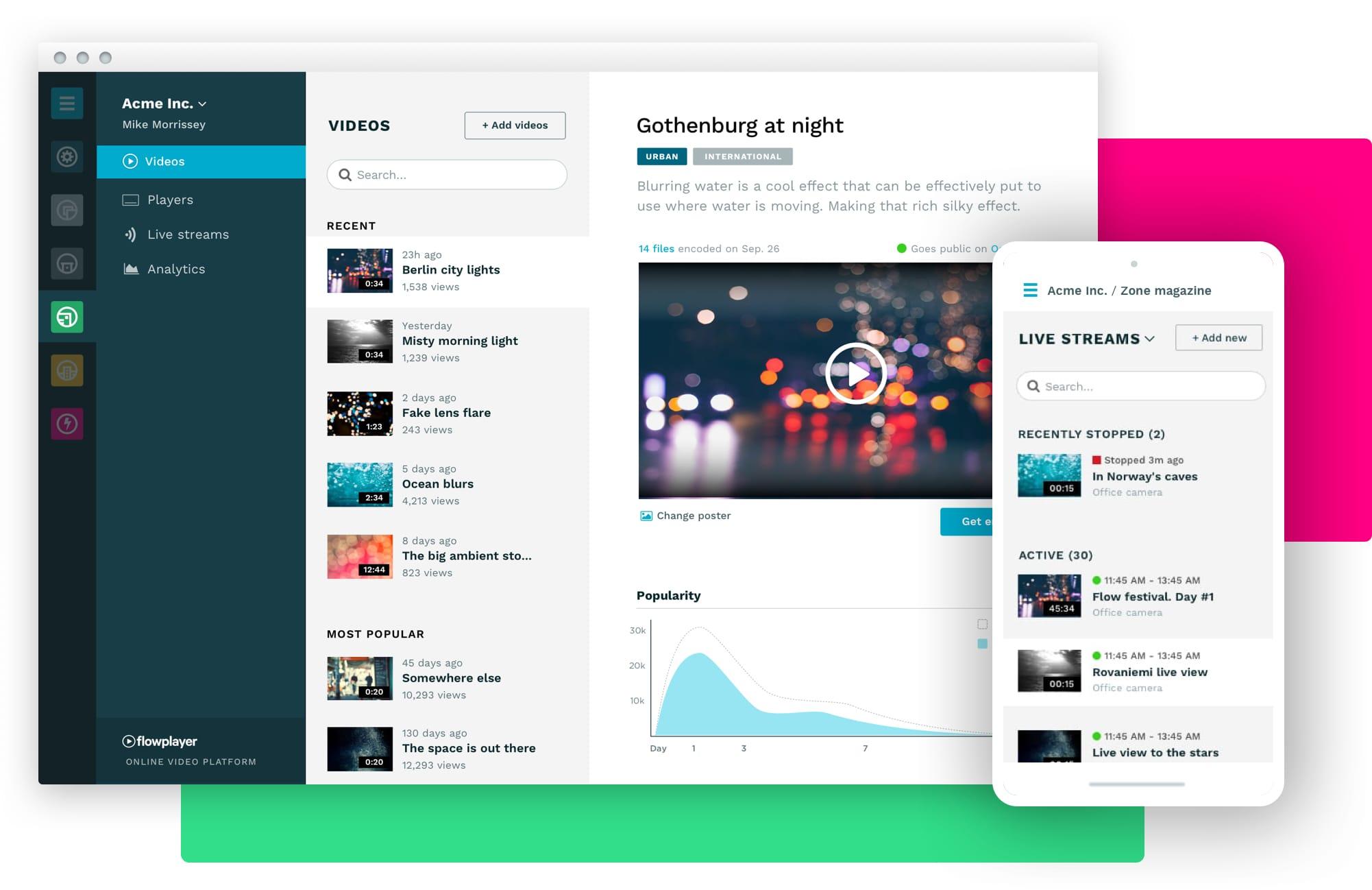 flowplayer Demo - The Flowplayer platform