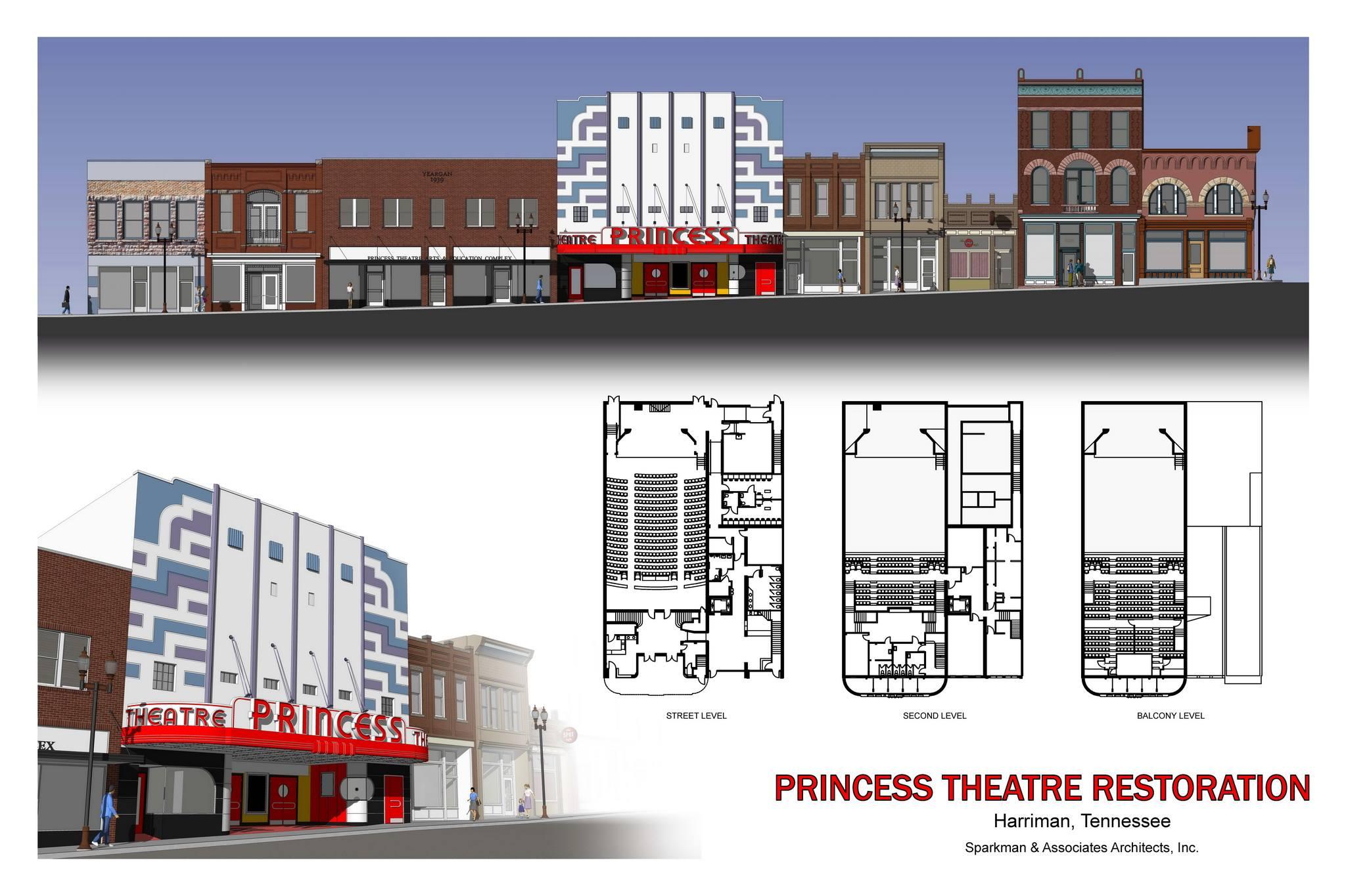 DataCAD Demo - Princess Theatre Restoration
