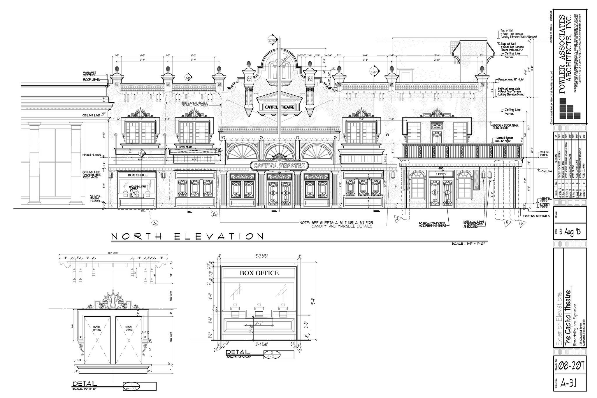 DataCAD Demo - The Capitol Theatre Remodeling and Expansion