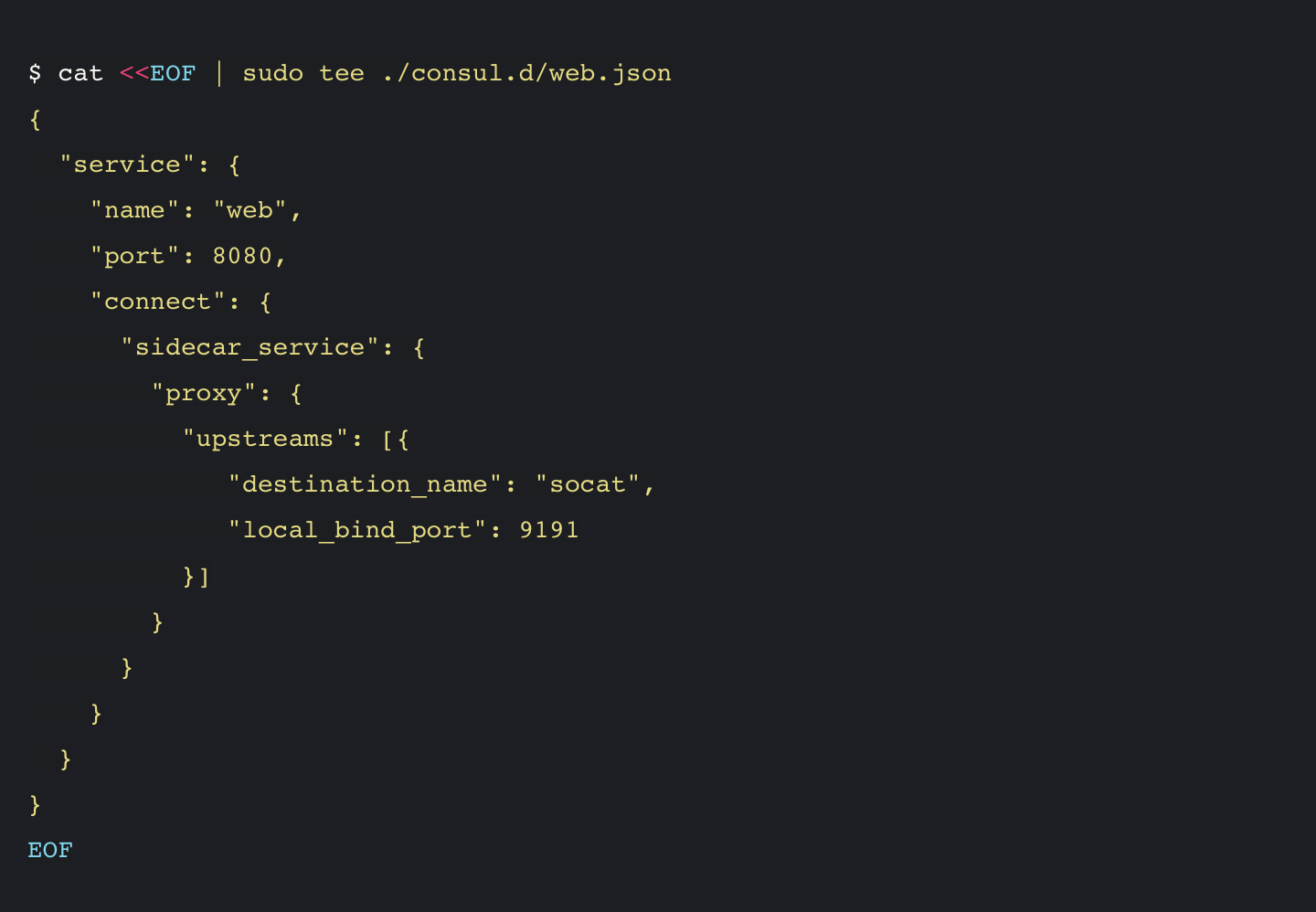 HashiCorp Consul Demo - Registering_Dependent_Service_ConsulConnect.png