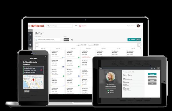 Shiftboard Demo - Mobile-First User Experience
