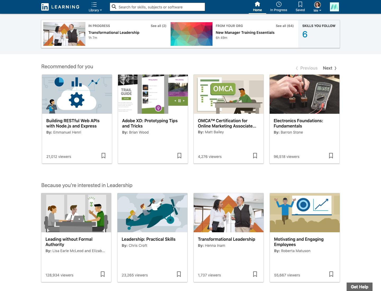 LinkedIn Learning | G2