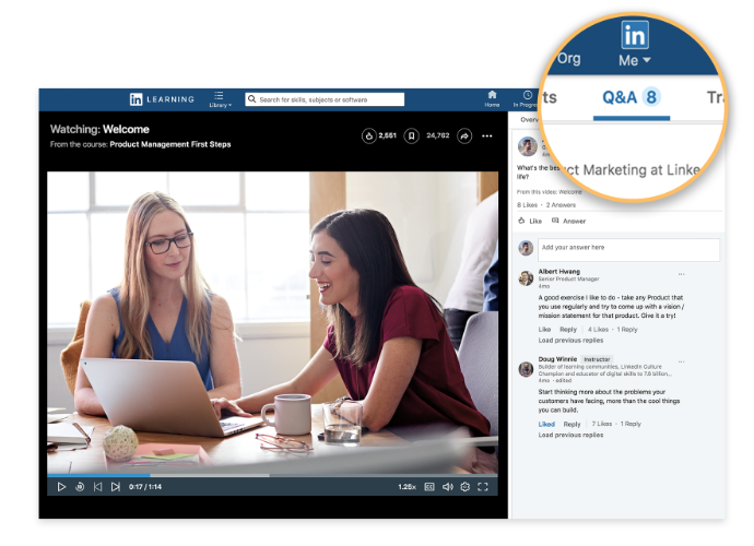 Linkedin Learning Reviews 2021 Details Pricing Features G2