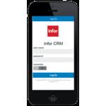 Infor CRM Demo - Infor CRM Mobile (Login Screen)