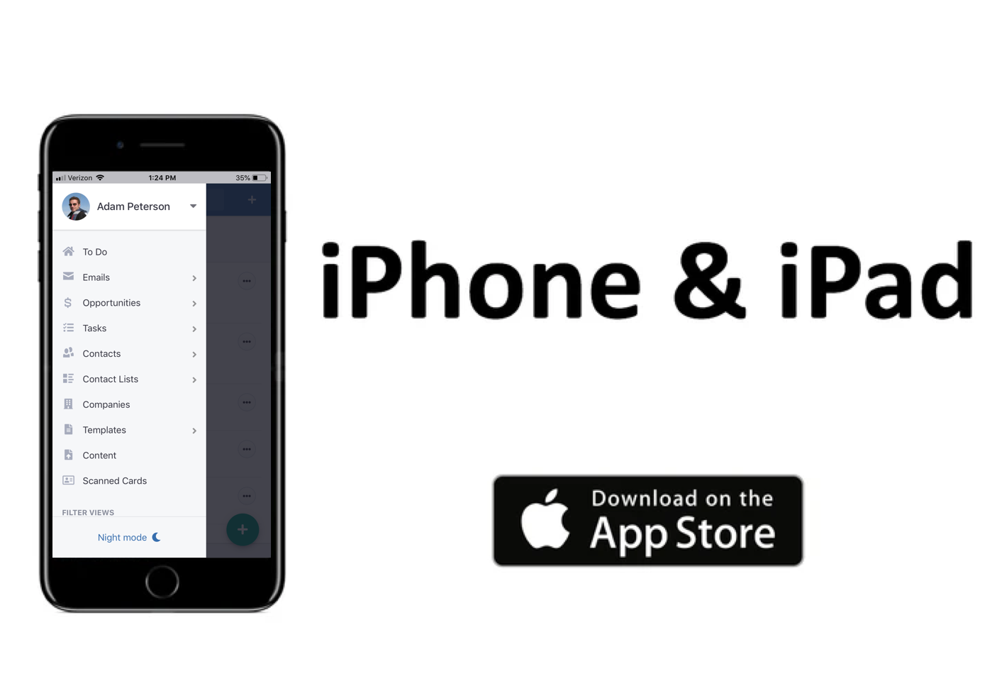VipeCloud Demo - iOS App - Acquire Customers On The Go