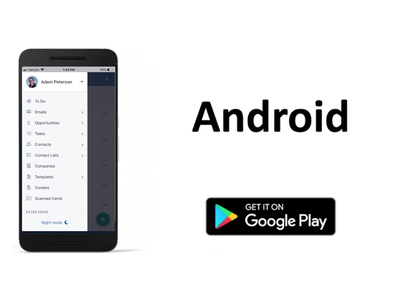 VipeCloud Demo - Android App - Acquire Customers On The Go