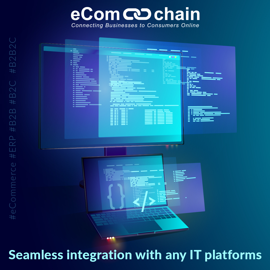 Ecomchain Demo - Grow your business online through seamless integrations to Oracle E-Business Suite, SAP, JD Edwards, Infor and many other applications