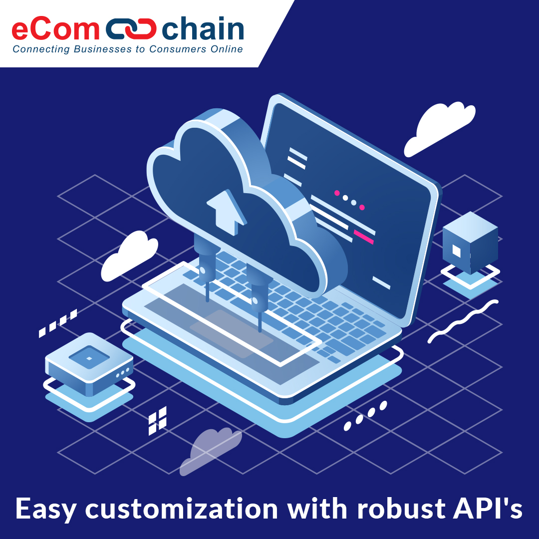 Ecomchain Demo - API's that will help you access the spp components, delivery of service and information that is more flexible