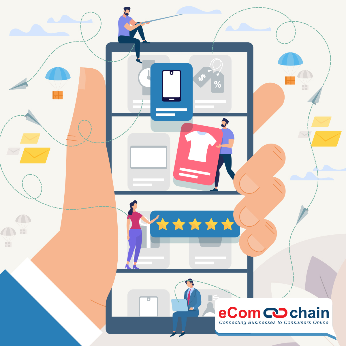 Ecomchain Demo - eComchain - helping your business go mobile