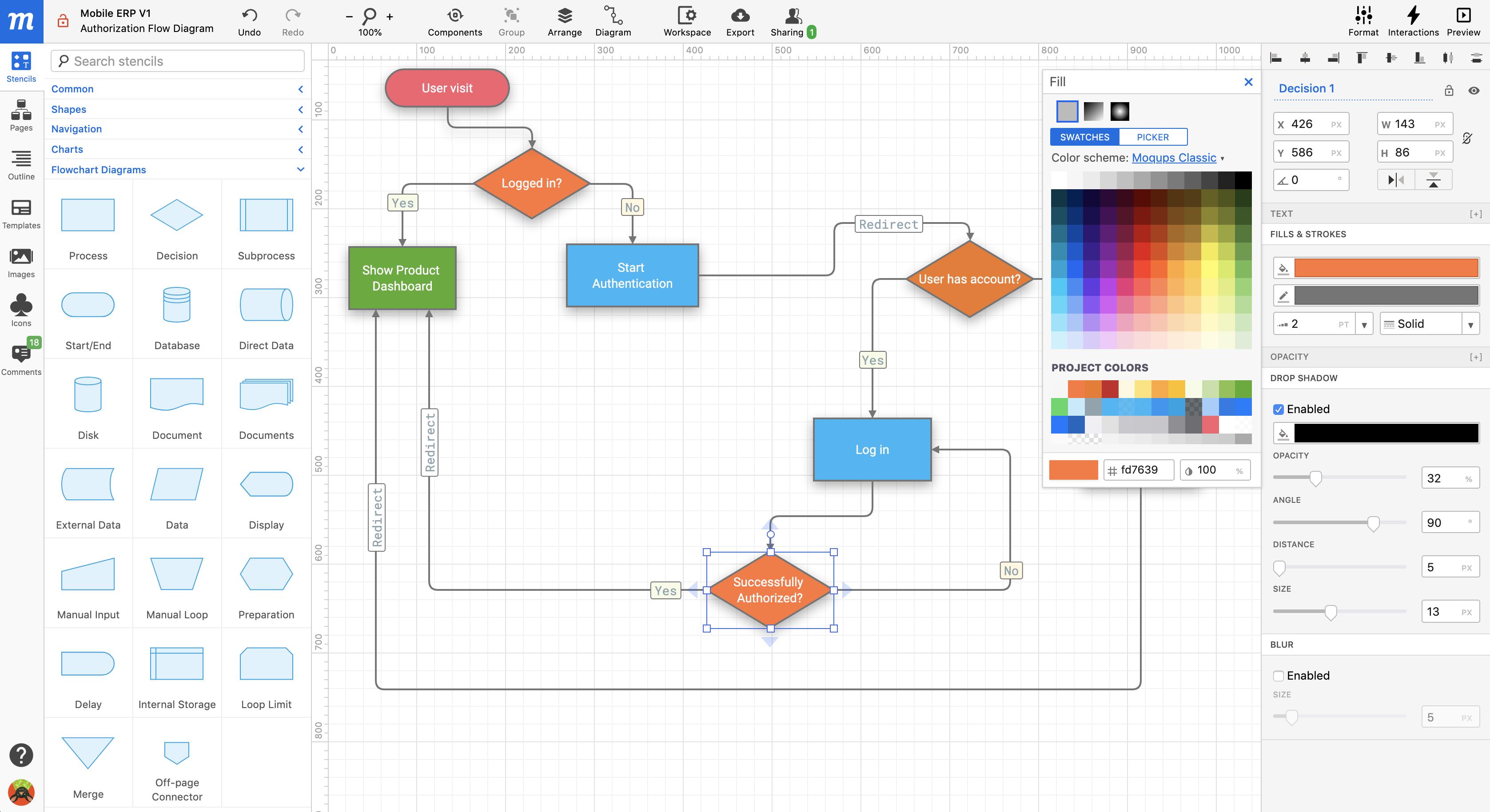 Moqups Demo - Moqups Diagramming
