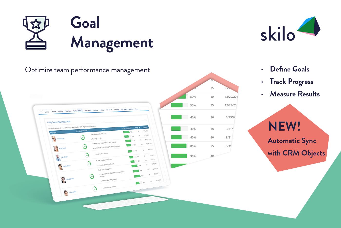 Skilo Demo - Goal Management App on Salesforce®