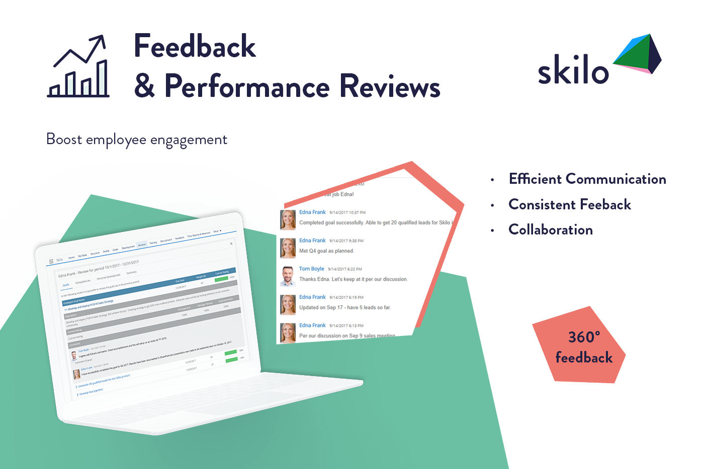 Skilo Demo - Feedback and Performance Reviews App on Salesforce®