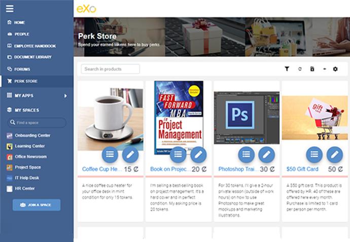 eXo Platform Demo - Perk-Store