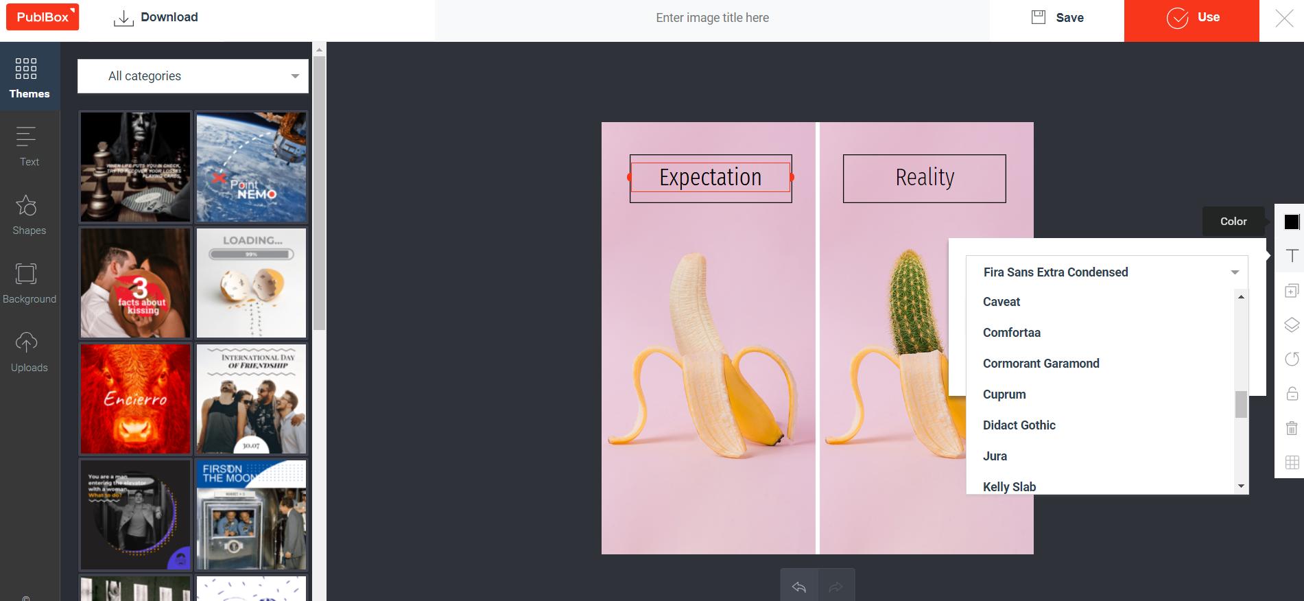 PublBox Demo - Social media graphics designer