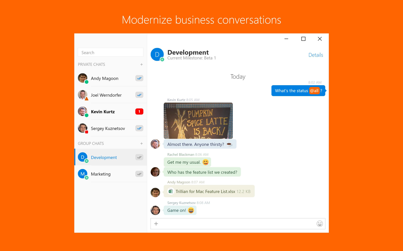 Skype Business vs Trillian | G2