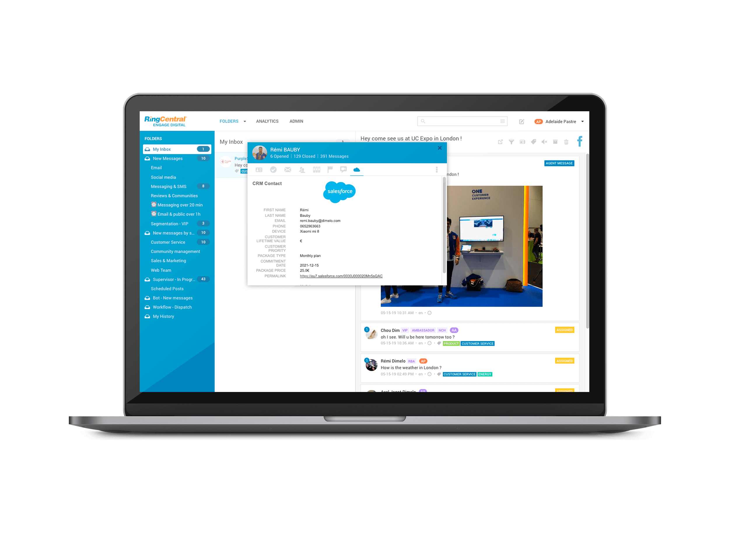 RingCentral Engage Reviews 2019: Details, Pricing