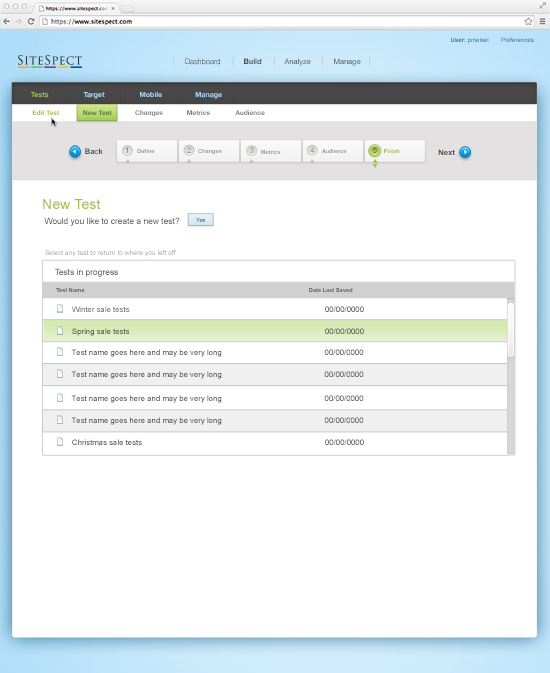 SiteSpect Demo -