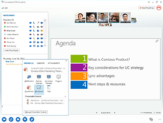 Skype for Business (formerly Lync) Demo -
