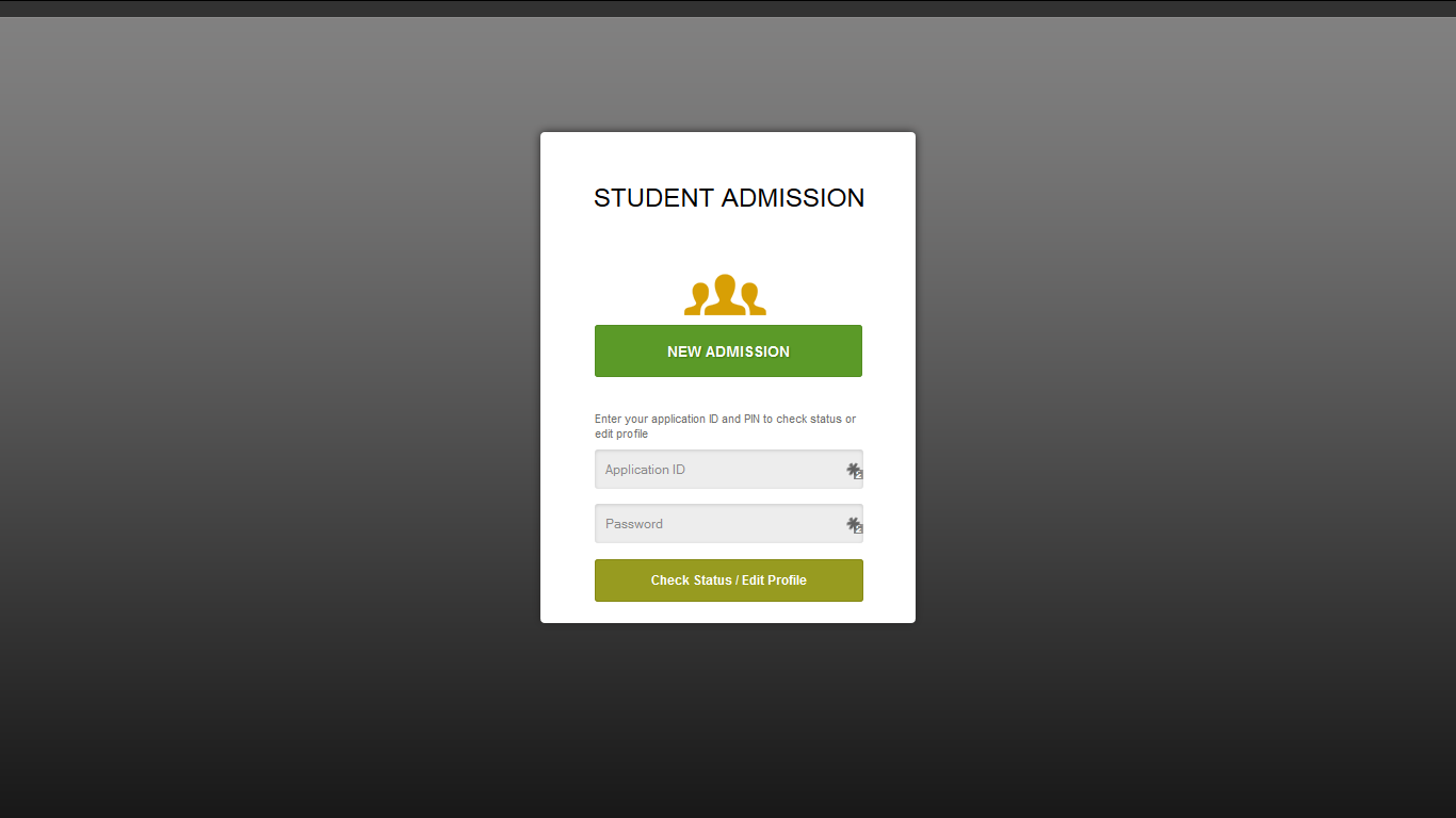 Open-School Demo - Student Login