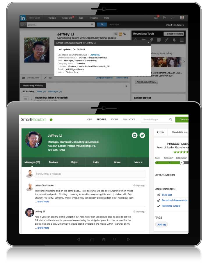SmartRecruiters Demo - SmartRecruiters Inside LinkedIn