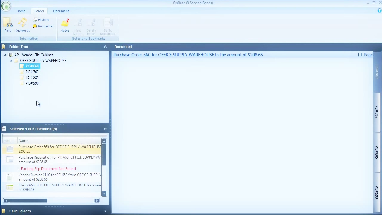 OnBase by Hyland Demo - OnBase – Accounts Payable