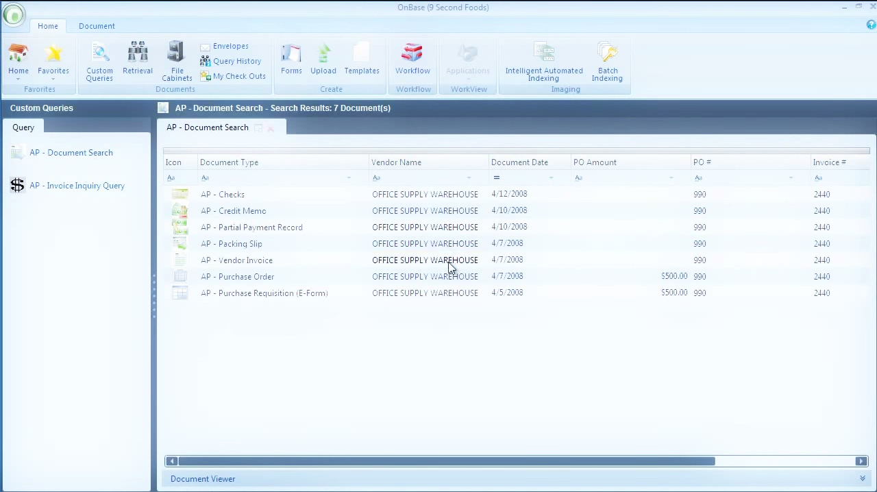 OnBase by Hyland Demo - OnBase - Accounts Payable