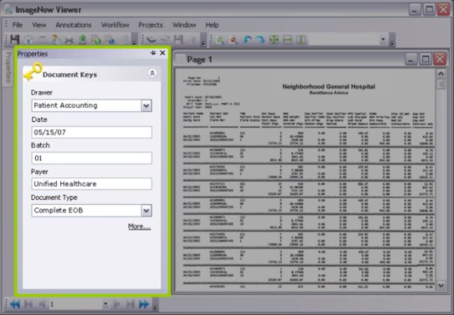 Lexmark Enterprise Software (formerly Perceptive) Demo - Perceptive Software