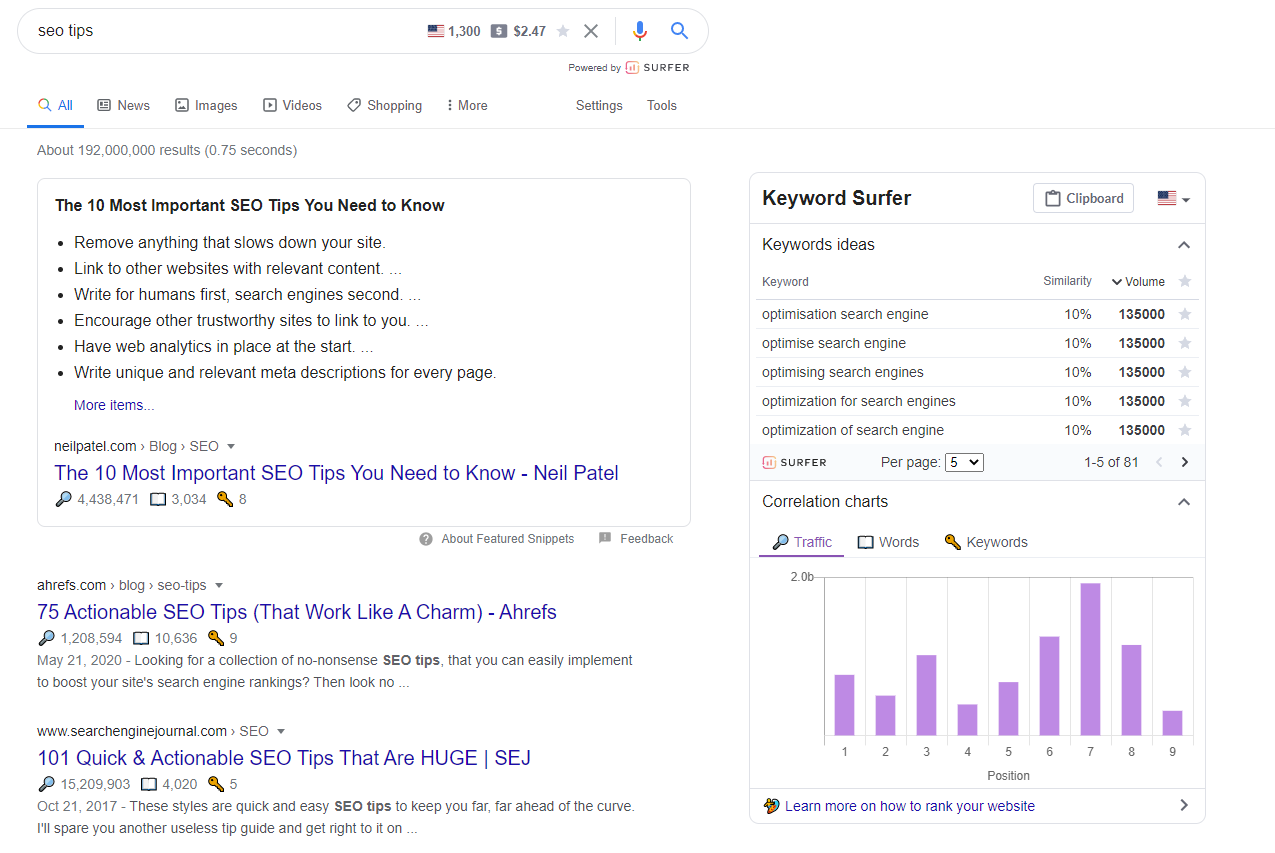 Keyword Surfer Reviews 2021: Details, Pricing, & Features | G2