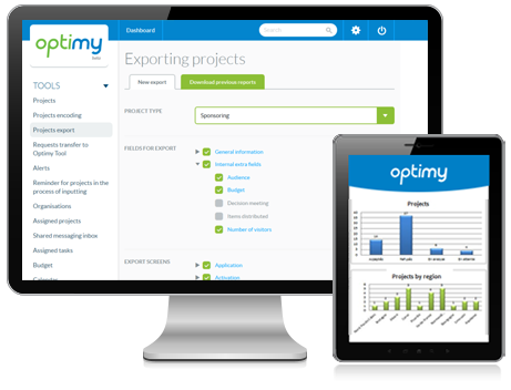 Optimy Grant & Community Investment Management Software Demo - Tailor-made reports