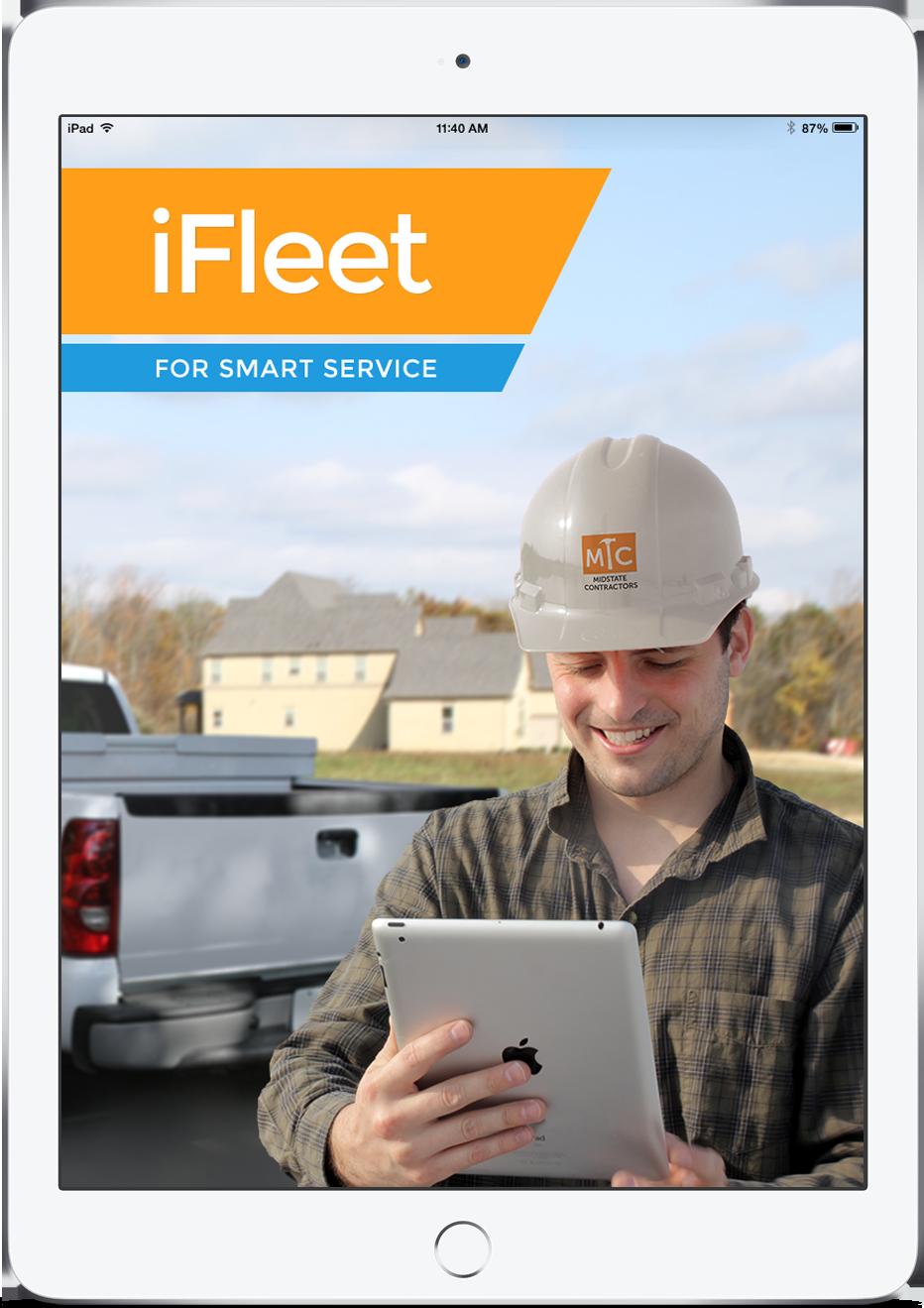 Smart Service Demo - iFleet Splash Screen