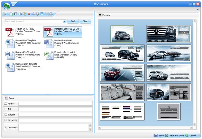 XtraBuild Designer Demo - XtraBuild Designer - Document management