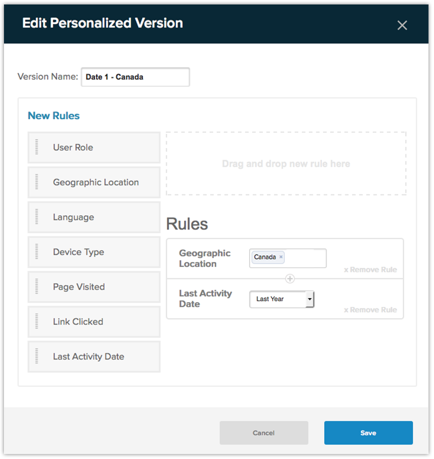 Evoq Content Demo - Real-time Personalization