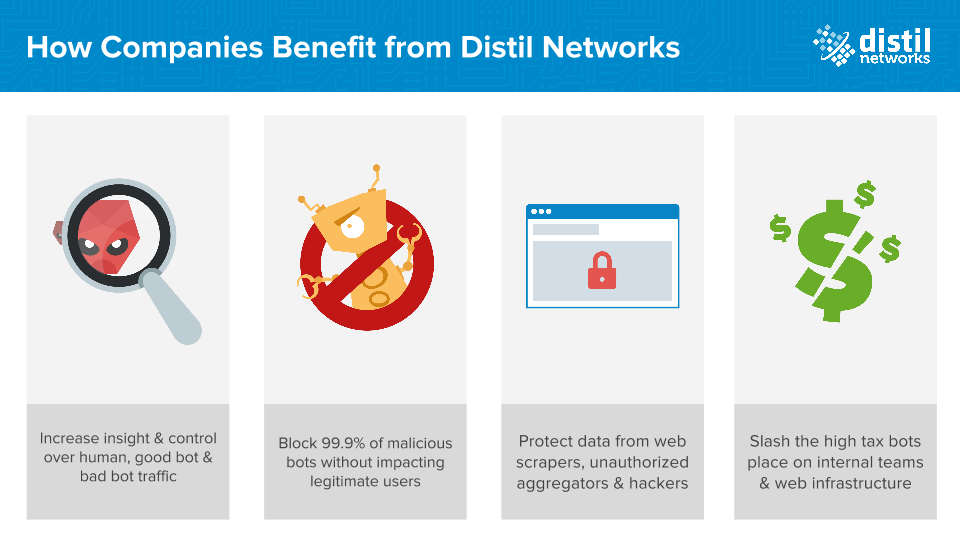 Distil Networks Demo - The First Easy and Accurate Way to Defend Your Website Against Malicious Bots