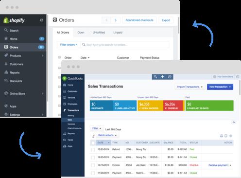 Pipemonk Demo - Shopify-QuickBooks Online Integration