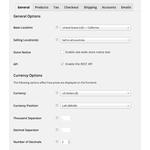 WooCommerce Demo - The slick WooCommerce settings panel.