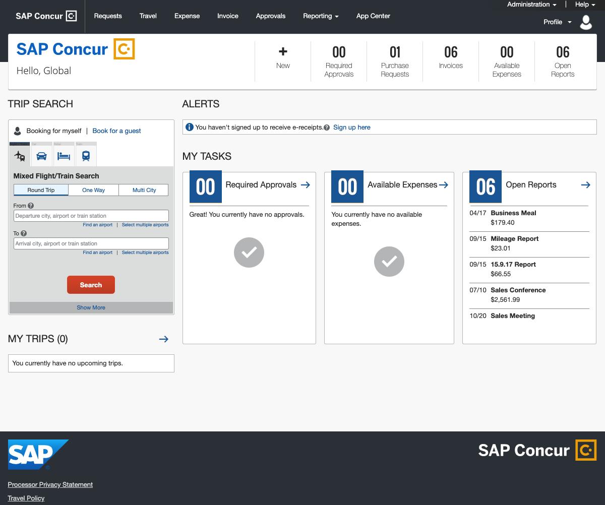 Oracle Expense Management Cloud vs SAP Concur | G2