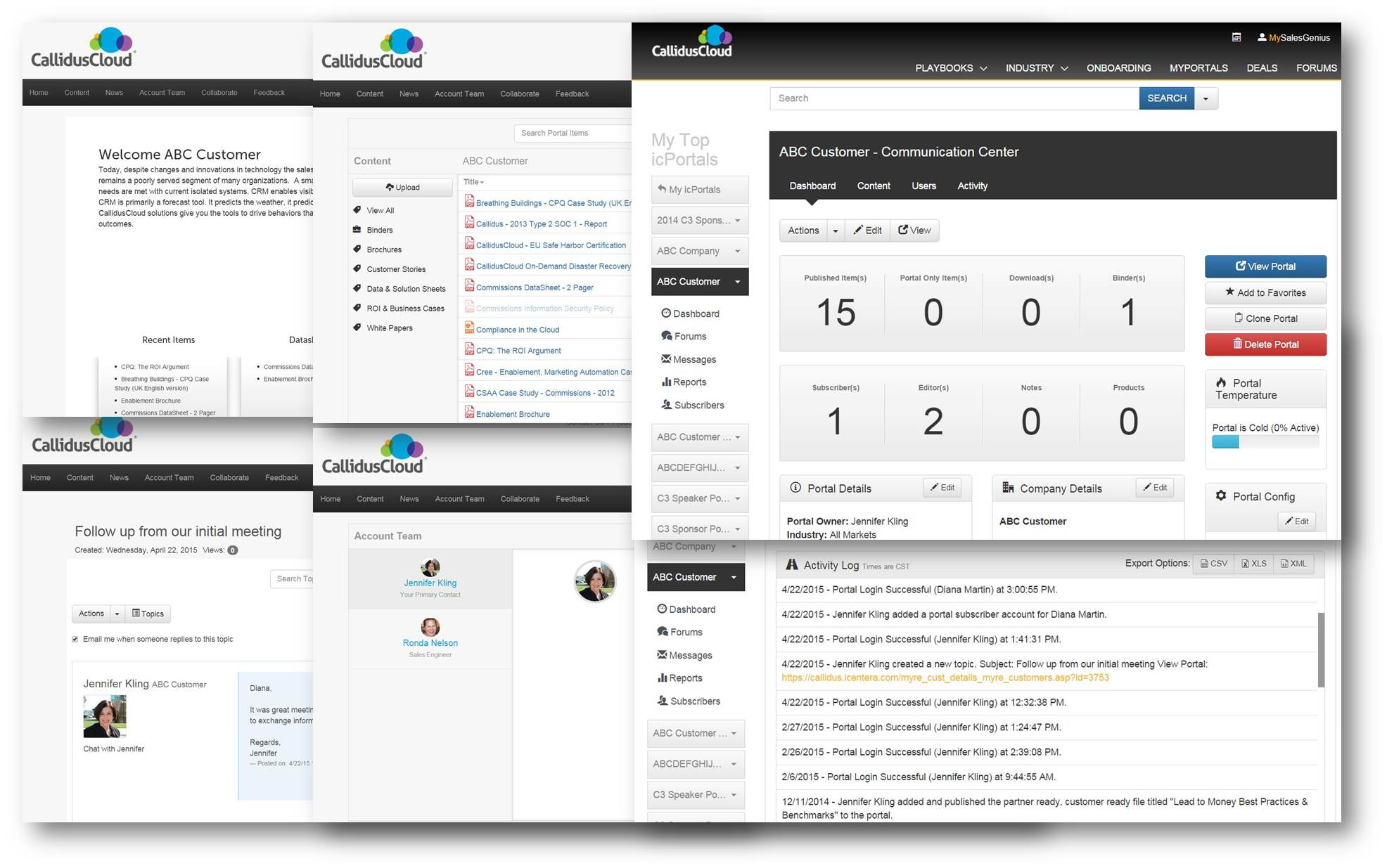 CallidusCloud Enablement Demo - Customer Portals