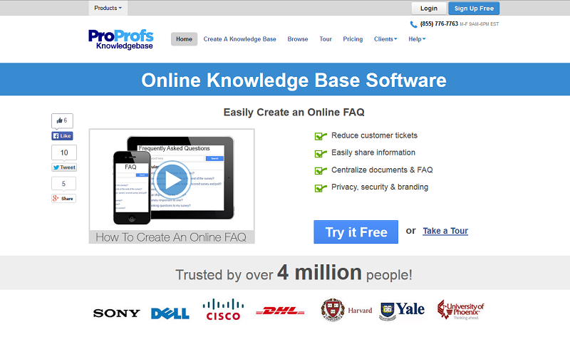 ProProfs Knowledge Base Software Demo - ProProfs Knowledge Base