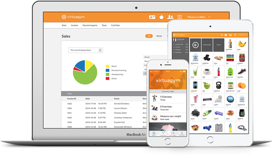 Virtuagym Demo - Overview - Membership Management, Club App & Point of Sale