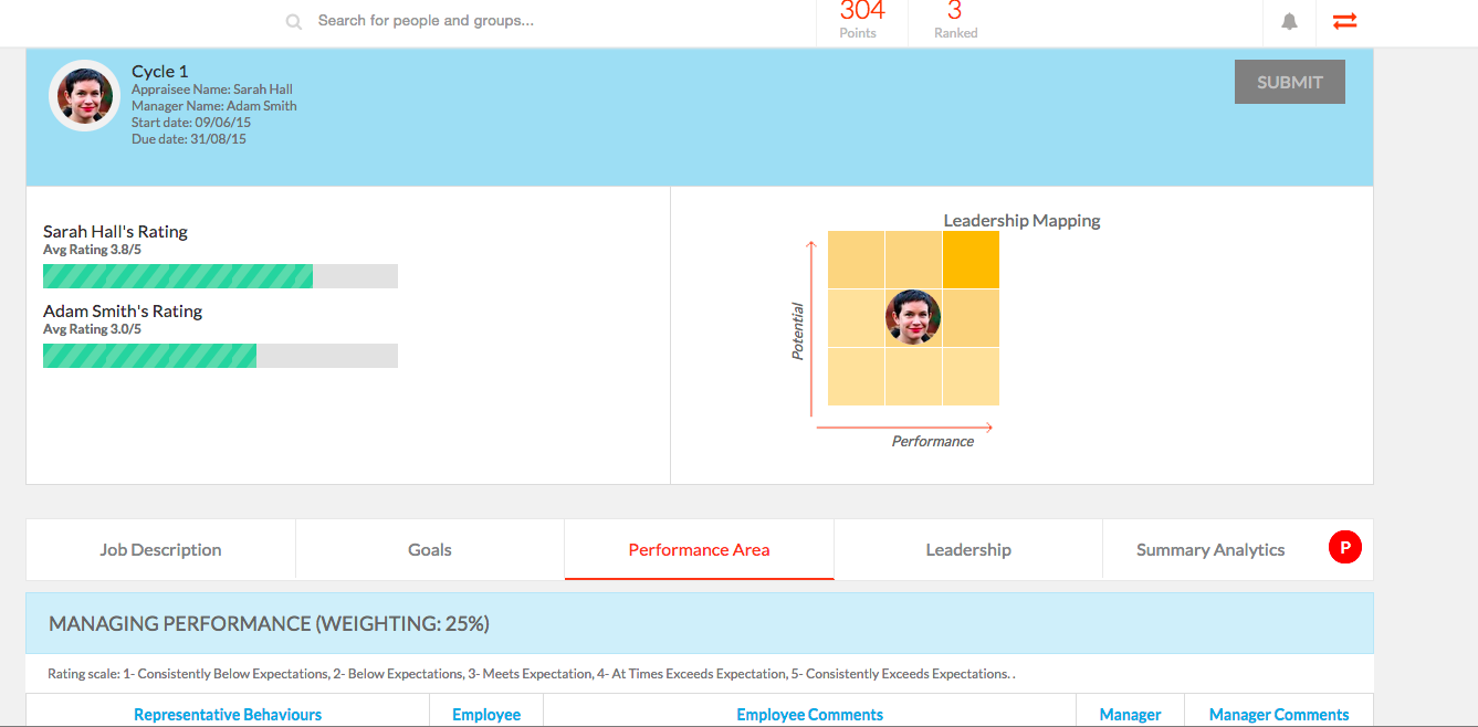 Engagedly Demo - 360 Performance Management
