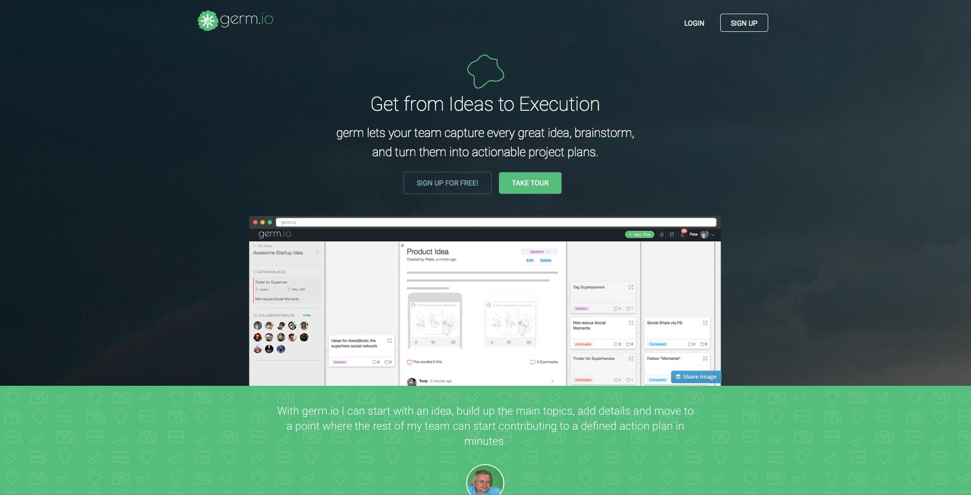 germ.io Demo - germ.io Website