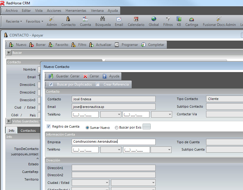 RedHorse CRM Demo - Costomizable and Easy to Use